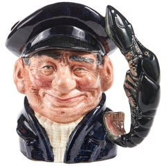 Character 'Lobster Man' Toby Jug by Royal Doulton