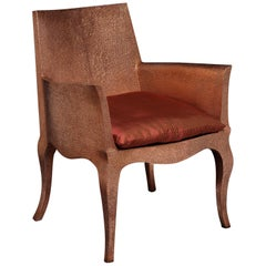 Louise Club Chair in Copper by Paul Mathieu for Stephanie Odegard