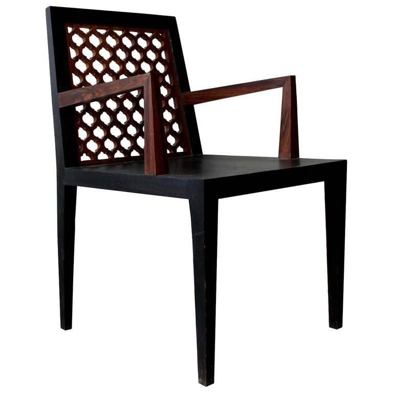 Jour Jali Back Chair by Paul Mathieu for Stephanie Odegard For Sale