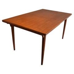 Danish Teak Dining Table Model 54 From Gunni Omann