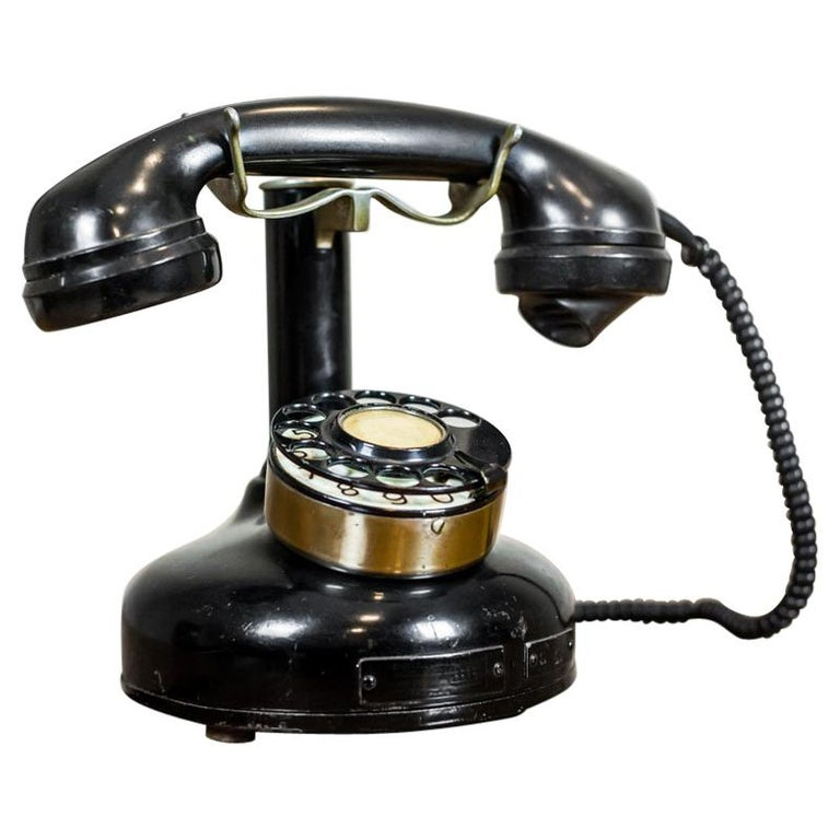 Telephone with a Rotary Dial, circa 1940 For Sale