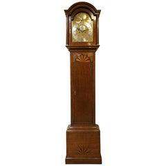 8 Day Oak Longcase Clock