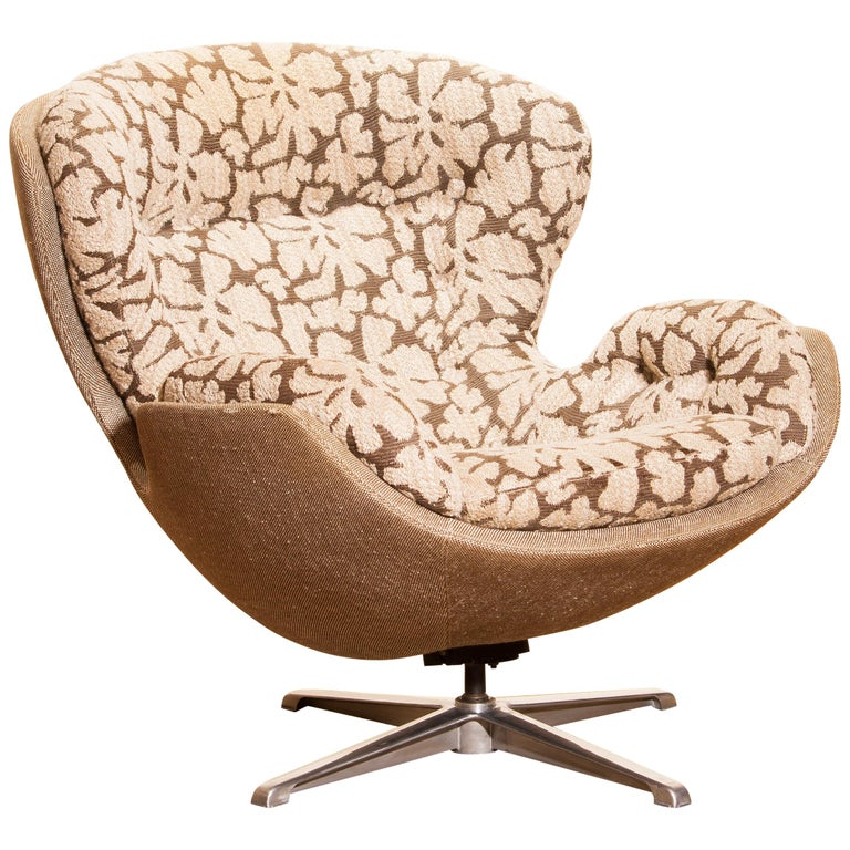 Swivel Lounge Chair 'Partner' by Lennart Bender for Ulferts, 1970s For Sale