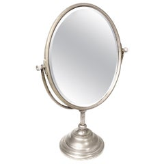 Oval Articulating Table Mirror