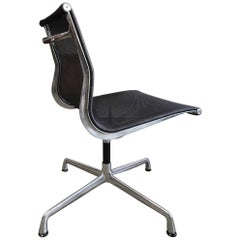 Eames Aluminum Group Side Chair for Herman Miller