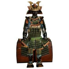 Japanese Samurai Armor with a Mogami Type Cuirass, 18th Century