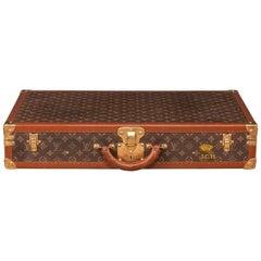 Unusual 20th Century Rare Sized Louis Vuitton Suitcase, circa 1960