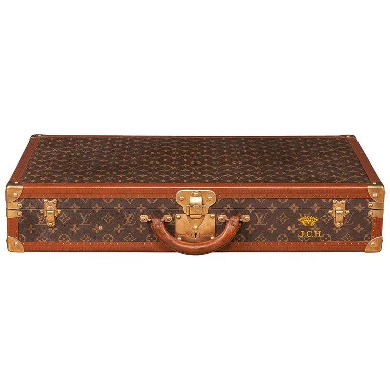 d82e831feeba Unusual 20th Century Rare Sized Louis Vuitton Suitcase