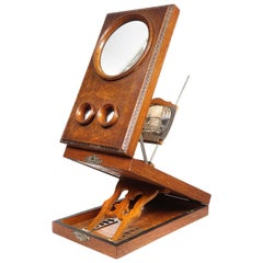 Antique Stereo Graphoscope Viewer