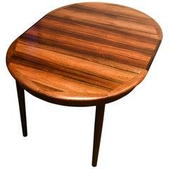 Skandinavischer ovaler Tisch, 1965