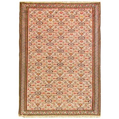 Very Fine Antique Senneh Kilim Rug