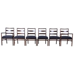 T.H. Robsjohn-Gibbings for Widdicomb Mid-Century Modern Dining Chairs, Set of 6