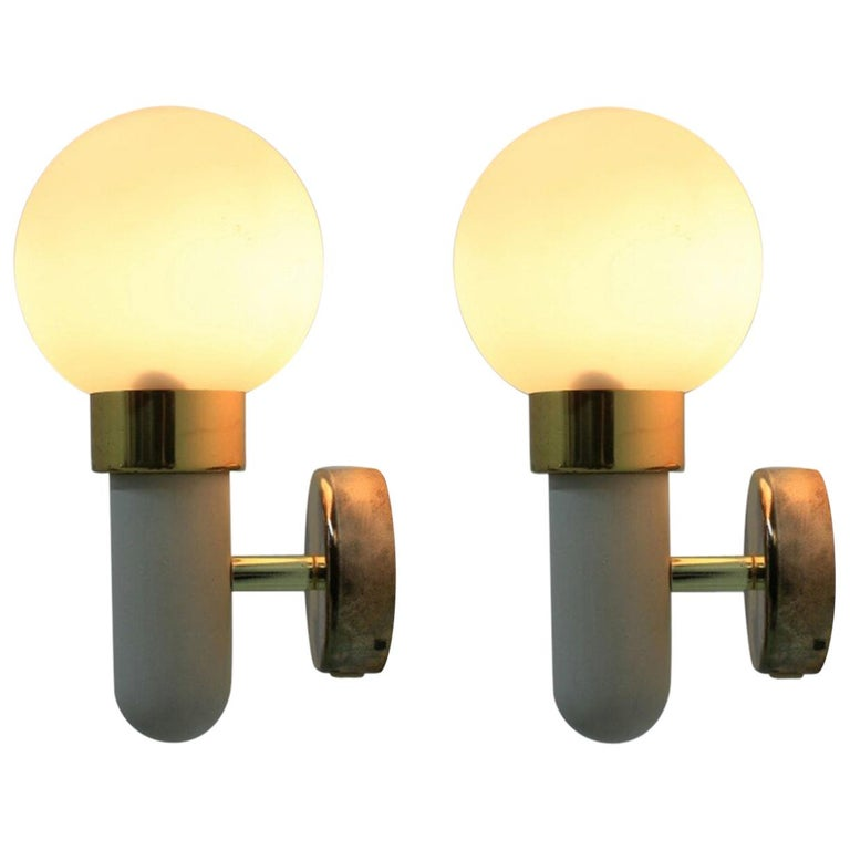 Pair of Wall Lights / Scones, 1970s For Sale