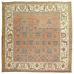 Persian Bakshaish Square Room Size Rug