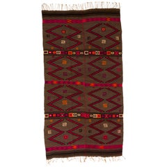 Mixtec Mexican Colorful Serape Blanket