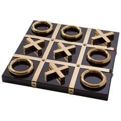 Black and Gold Tic Tac Toe, Set