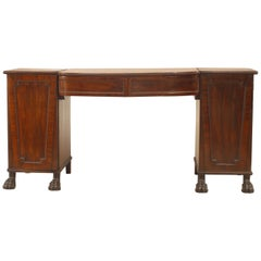 English Georgian Mahogany Sideboard