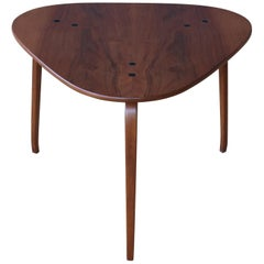 "Yngve Ekstrom ""Krok"" Teak Side Table, Sweden, 1950s"