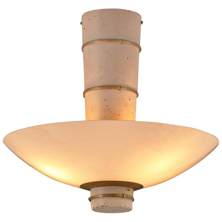 Ceiling Light by Paavo Tynell for Taito For Sale