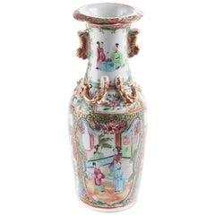 Antique Chinese Canton Vase