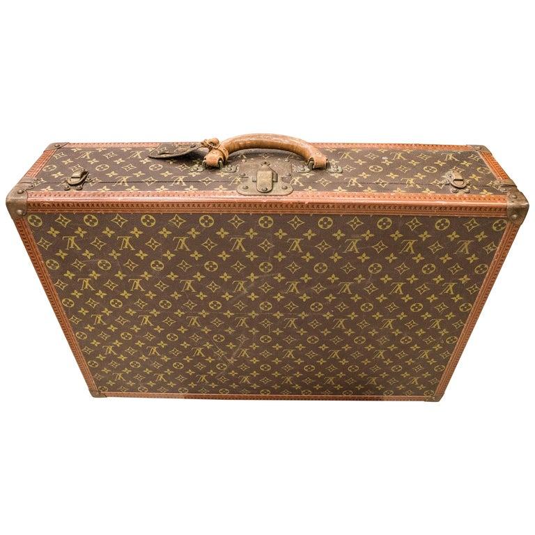 "Louis Vuitton ""Suitcase Bisten"" Toile Monogram '907927' and Clefs 132516 For Sale"
