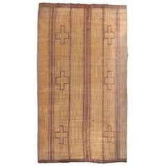 Mid-20th Century Vintage Mauritanian Leather Tuareg Rug North Africa