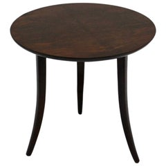 Josef Frank Art Deco Era Round Walnut Side Table for Haus & Garten, Vienna