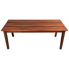 Danish Design Oak Bench, circa 1950