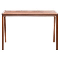 Study Table, Midcentury Wooden Office Desk, Writing Desk