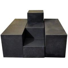 Modular Sofa Tables Gli Scacchi by Mario Bellini for B&B Italia, 1960s