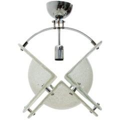 Italian Midcentury Pendant Lamp in Murano Glass, 1970s