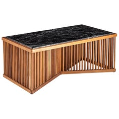 Cage Table, Mid-Century Modern Center or Coffee Table