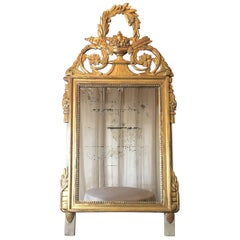 Elegant French Louis XVI Style Mirror