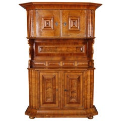 Buffet in Style of the Frankfurt Wave Cabinet 18th Century Walnut