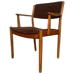 Midcentury Danish Oak Armchair by Poul Volther for FDB Møbler, 1950s