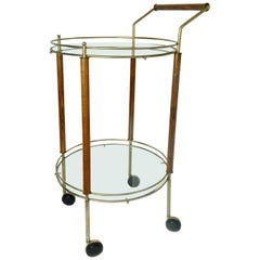 1960s Midcentury Italian Bar Cart