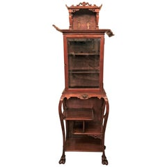 Antique Chinese Display Cabinet, 100 Years Old