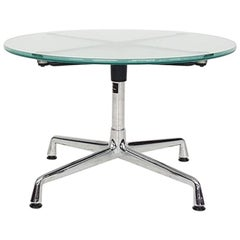 "Eames Glass and Chrome ""Contract"" Aluminium Group Coffee Table for Vitra, 2004"