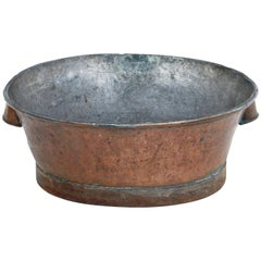 19th Century Rustic Swedish Copper Cooking Vessel
