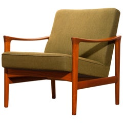 1960s, Teak Lounge Chair by Erik Wørts for Bröderna Andersson