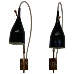 Mid-20th Century Wall Lights and Sconces