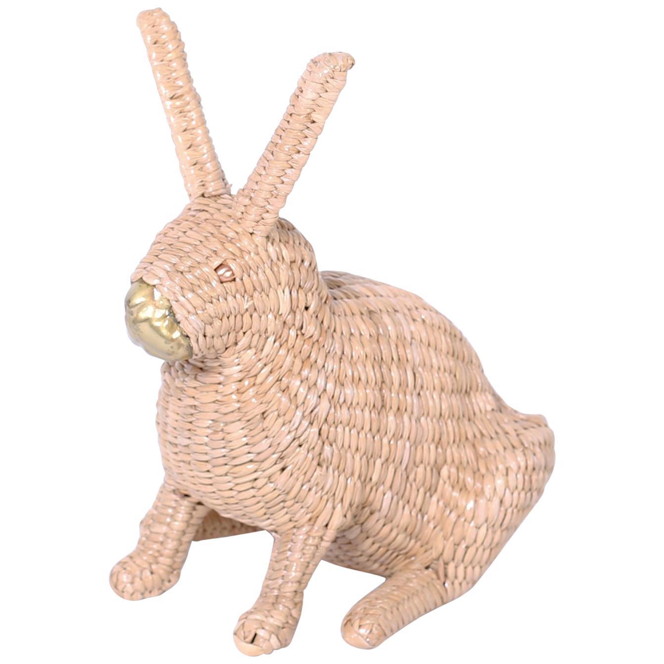 Mario Torres Wicker Bunny