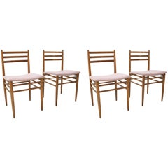 Set of Four of Dining Chairs, 1960s