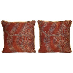 Pair of Fortuny Fabric Cushions