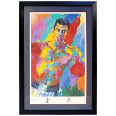 Contemporary Framed Serigraph Signed by Muhammad Ali & LeRoy Neiman 2001 34/850
