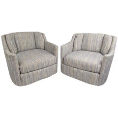 Pair of Folio 500 Lounge Chairs by Henredon