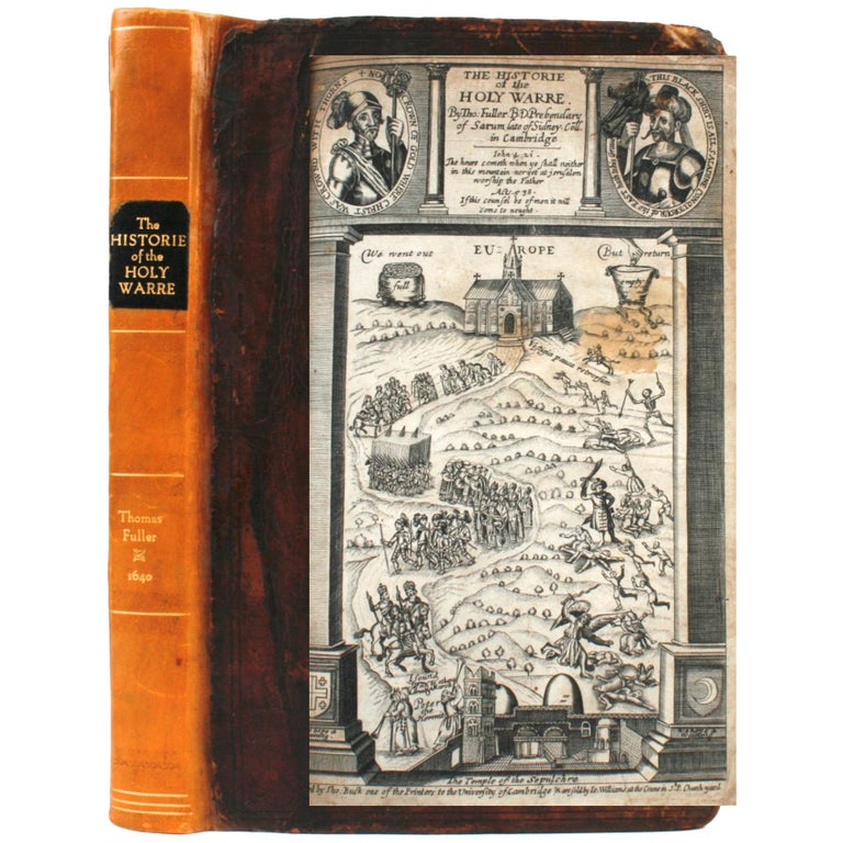 Historie of the Holy Warre by Thomas Fuller, Second Edition, circa 1640 For Sale