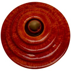 Wandleuchte oder Einbaubeleuchtung aus Keramik