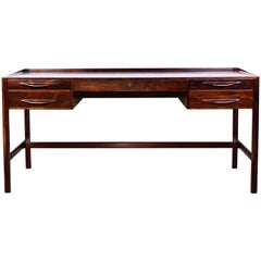 Midcentury Kurt Østervig Executive Rosewood Desk by Jason Møbler