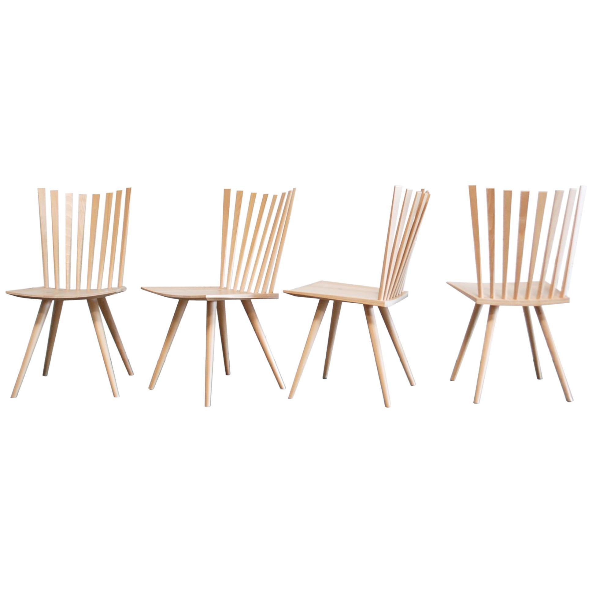 Mikado Dining Chairs Design Foersom & Hiort-Lorenzen by Fredericia